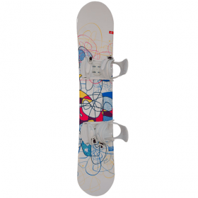 Generics Flair snowboard met bindingen 155 cm - All-mountain