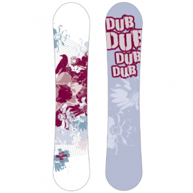 Dub Maven all-mountain snowboard 154 cm