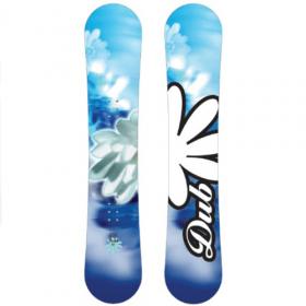 Dub Sola all-mountain snowboard 154 cm