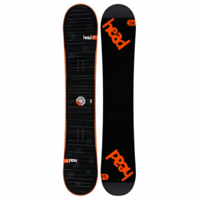 Head Rocka FW 4D WIDE Orange all-mountain snowboard 158 cm