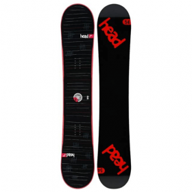 Head Rocka FW 4D Red all-mountain snowboard 154 cm