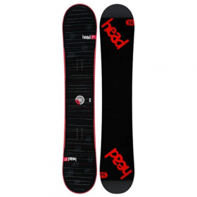 Head Rocka FW 4D Red all-mountain snowboard 159 cm