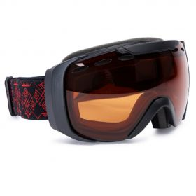 F2 skibril zwart/rood