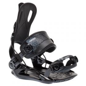 RAGE FT270 Black - snowboard bindingen - FASTEC - maat S