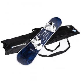 Snowsportshop waterafstotende snowboardtas 180x40x16 cm