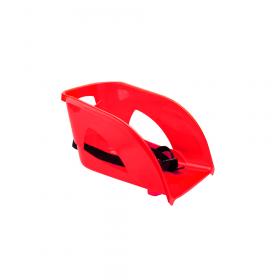 Zitje / rugleuning voor kunststof slee - Rood